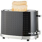 VonShef 2 Extra-Wide Slice Dot Toaster