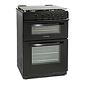 Montpellier MDG600LK 600mm Double Gas Oven & Grill Black