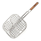 BBQ Grill Burger Patty Holder Basket and Turner
