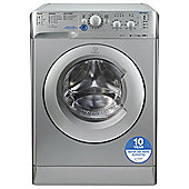 Indesit Innex Washing Machine, XWSC 61252 S UK, 6KG load, with 1200 rpm - Silver