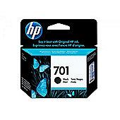 HP 701 Inkjet Print Cartridge - Black