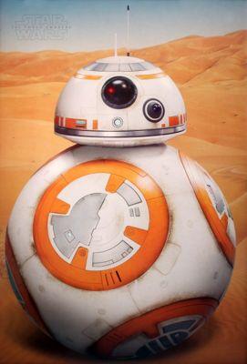Star Wars Episode Vii Bb-8 Poster 61x91.5cm