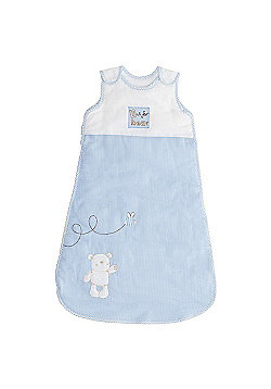 OBaby B is for Bear Blue 2.5 Tog Sleeping Bag - 0-6 Months