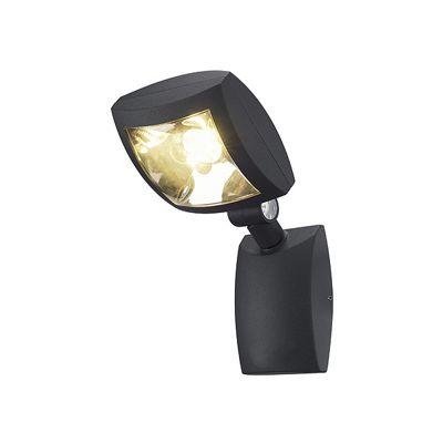 Mervaled Wall Light Anthracite 12W LED Warm White