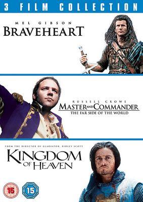Braveheart / Master & Commander/Kingdom Of Heaven (DVD Boxset)