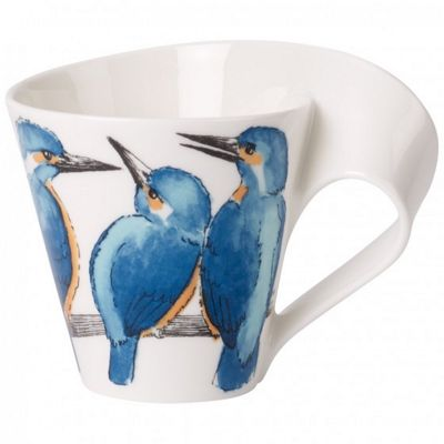 Villeroy and Boch NewWave Caffe Gift Boxed Kingfisher Mug 0.35L