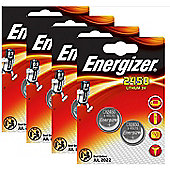 8 x Energizer CR2450 3V Lithium Coin Cell Battery 2450