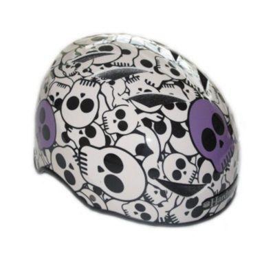 HardnutZ Skulls Street Helmet Purple - Large (58-61cm)