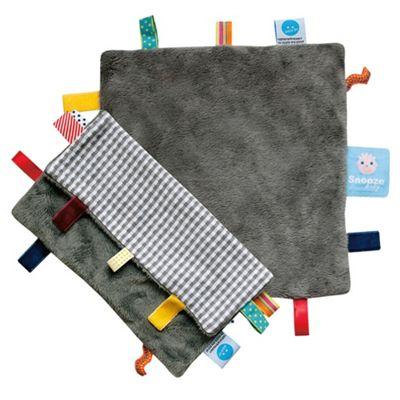 Snoozebaby Organic Comforter - Hippo Grey