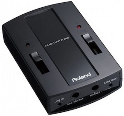 Roland DUO-CAPTURE: USB Audio Interface