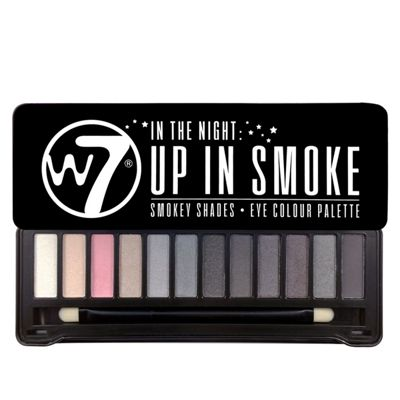 W7 'In The Night' Up In Smoke Eye Colour Palette