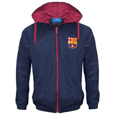 FC Barcelona Mens Shower Jacket XXL