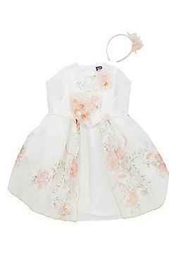 Disney Princess Belle Fancy Dress Costume - White
