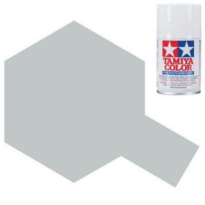 Tamiya Ps-41 Bright Silver Polycarbonate Spray Paint 100Ml Lexan Rc Car Body
