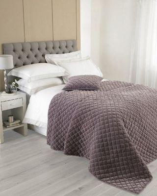 Riva Home Annecy Plum Bedspread - 240x250cm