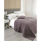 Riva Home Annecy Bedspread - Plum