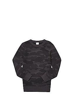 F&F Camo Jumper - Grey