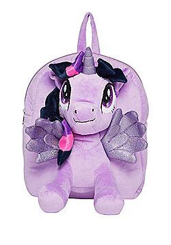 Hasbro My Little Pony Twilight Sparkle Plush Backpack Purple One Size