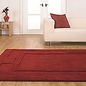 Sierra Apollo Red 150x210 Wool Rug