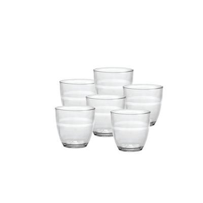 Duralex Gigone Espresso Glasses - 90ml - x6