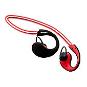 Groov-e GVBT800RD Wireless Sports Earphones with LED Neckband - Red