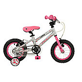 "Falcon Superlite 12"" Girls Bike with Stabilisers"