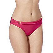F&F Luxury Fold-Over Bikini Briefs - Red