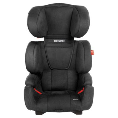Recaro Milano Group 2 3 Car Seat Black