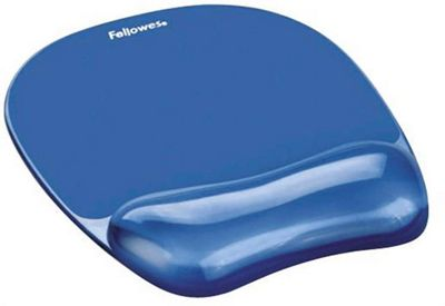 Fellowes 9114120 Blue mouse pad Crystal Gel
