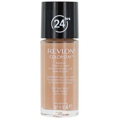 Revlon Colorstay 24 Hours / 24hrs Foundation Makeup - True Beige (320) Comb/Oily