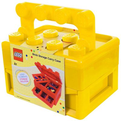 Great LEGO Carry Case Yellow