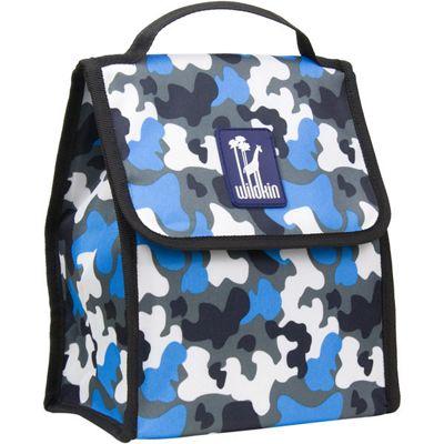 Kids' Lunch Bag- Blue Camo