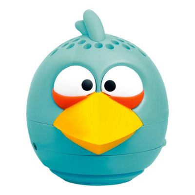 Gear 4 Angry Birds Mini Speaker for iPod/ Tablets / Smartphones - Blue