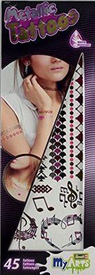 Metallic Tattoo L (pink accent)