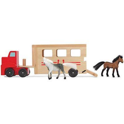 Melissa & Doug Wooden Horse Box