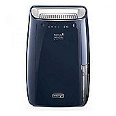 DeLonghi DEX16F Dehumidifier with 16L/24h Humidity Absorption in Blue