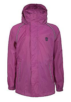 Kid's Pakka Waterproof Jacket - Purple