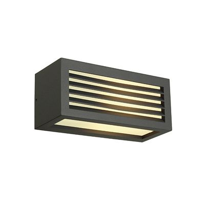 Box-L Wall Lamp Light Square Anthracite E27 Max. 18W