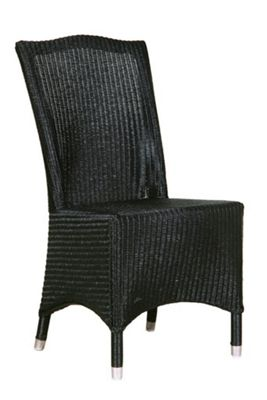 Classic LLoyd Loom Chair Black