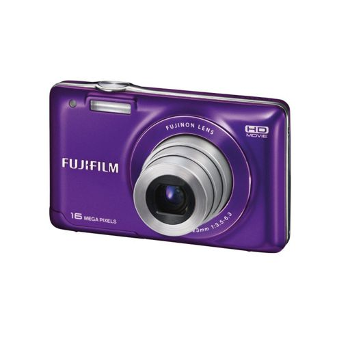 Fuji FinePix JX550 Camera Purple 16MP 5xZoom 2.7LCD 720 pH. D 26 mm - Wide Lens