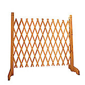 Free-Standing Expanding Fence