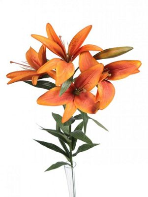 Artificial - King Lily - Orange
