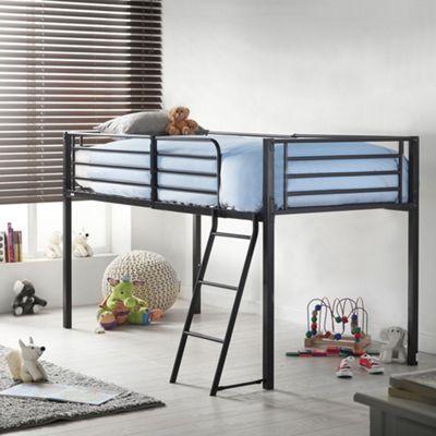 VonHaus Mid Sleeper Bed Frame – No Screws & Bolts. BOLTZERO™