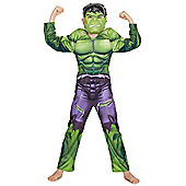 Marvel Avengers Incredible Hulk Halloween Dress-Up Costume - Green