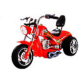 Kids 6V Chopper Style Ride On Bike - Red