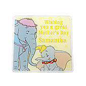 Disney Dumbo Personalised Mother's Day Coaster