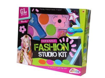 GL Style Hair & Nails Fashion Studio Kit
