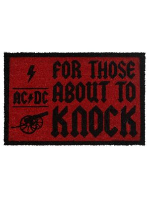AC/DC For Those About To Knock Door Mat 60 x 40cm