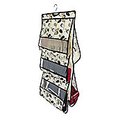 Country Club Handbag Storage, Black and Cream