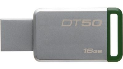 Kingston DataTraveler 50 16GB USB 3.0 Flash Drive - Green